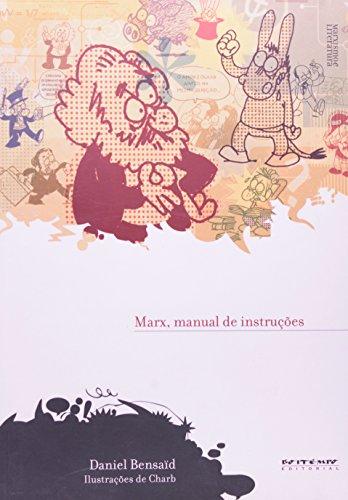 Marx, manual de instruções, livro de Daniel Bensaïd, Charb (ilustrações)