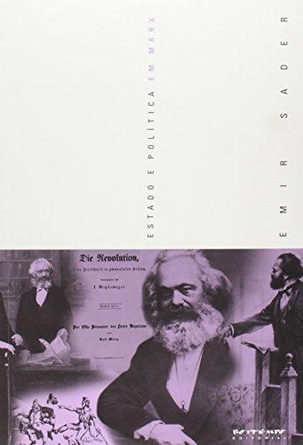 Estado e política em Marx, livro de Emir Sader