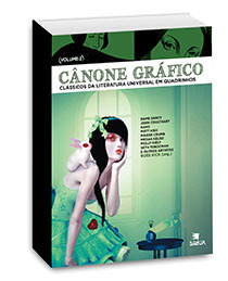 Cânone gráfico II - Clássicos da literatura universal em quadrinhos, livro de Russ Kick (org.)