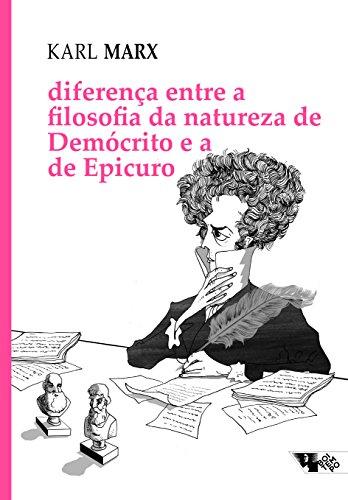 Diferença entre a filosofia da natureza de Demócrito e a de Epicuro, livro de Karl Marx