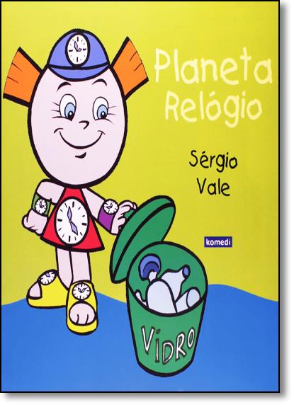 Planeta Relógio, livro de Sérgio Vale