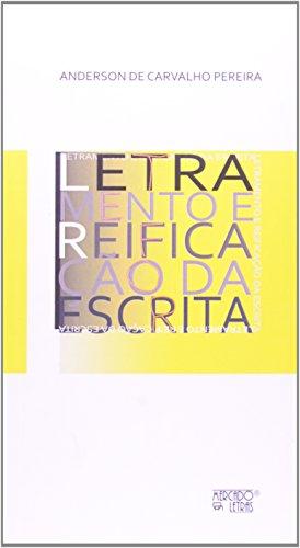 Letramento e Retificação da Escrita, livro de Anderson de Carvalho Pereira