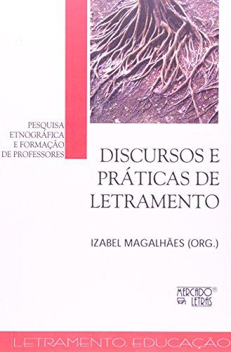 Discursos e Práticas de Letramento, livro de Izabel Magalhaes