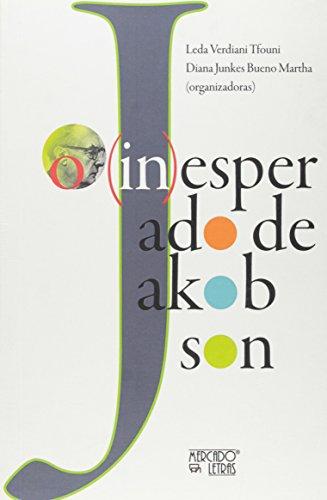 (In)Esperado de Jakobson, livro de Leda Verdiani Tfouni