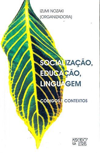 Socialização, Educação, Linguagem, livro de Izumi Nozak
