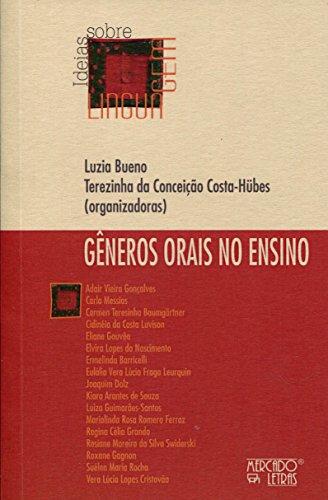 Gêneros Orais no Ensino, livro de Luzia Bueno, Terezinha da Conceição Costa-Hubes