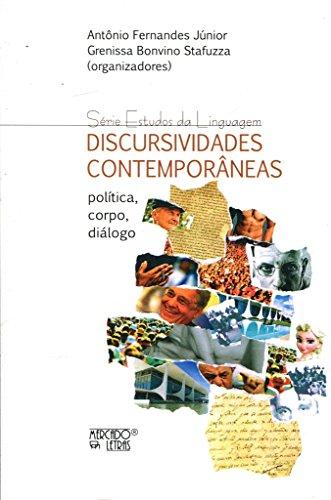 Discursividades Contemporâneas, livro de Antônio Fernandes Júnior, Grenissa Bonvino Stafuzza