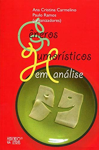 Gêneros humorísticos em análise, livro de Ana Cristina Carmelino, Paulo Ramos