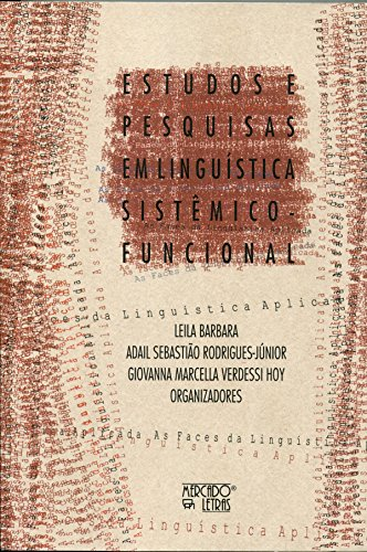 Estudos e Pesquisas em Linguística Sistêmico-Funcional, livro de Leila Barbara, Adail Sebastião Rodrigues-Júnior, Giovanna Marcella Verdessi Hoy
