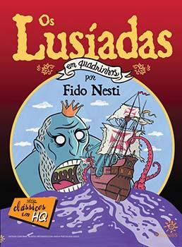 Os lusíadas em quadrinhos, livro de Luís De Camões, Denyse Cantuária