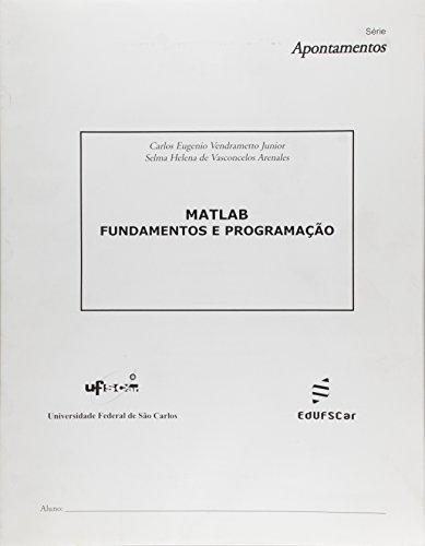 Matlab - Fundamentos E Programacao, livro de