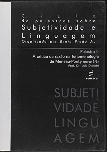 A Critica Da Razão Na Fenomenologia De Merleau-Ponty, V.508, livro de Luiz Damon