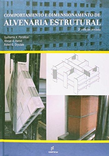 Comportamento E Dimensionamento De Alvenaria Estrutural, livro de Robert G.^Hamid, Ahmad A.^Parsekian, Gui Drysdale