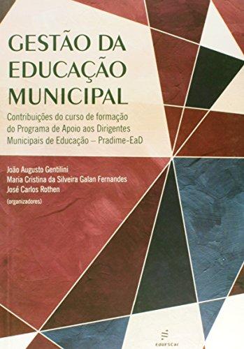 Gestao De Educacao Municipal, livro de Vários Autores