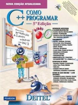 C++ - Como programar - 5ª edição, livro de Harvey M. Deitel, Paul J. Deitel
