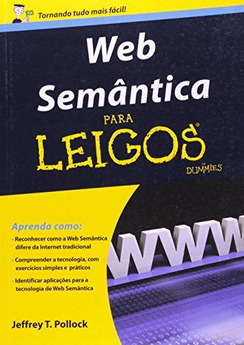 Web Semântica Para Leigos, livro de Jeffrey T. Pollock