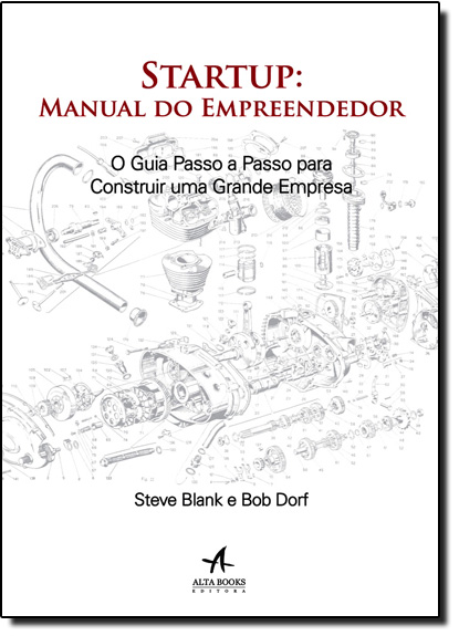 Startup: Manual do Empreendedor, livro de Steve Blank