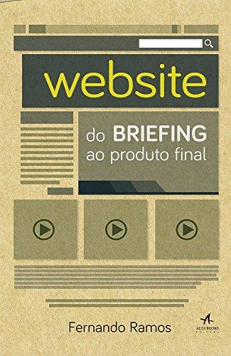 Website: Do Briefing ao Produto Final, livro de Fernando Ramos