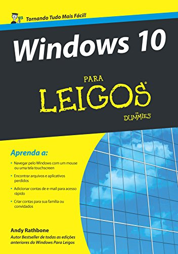 Windows 10 Para Leigos, livro de Andy Rathbone
