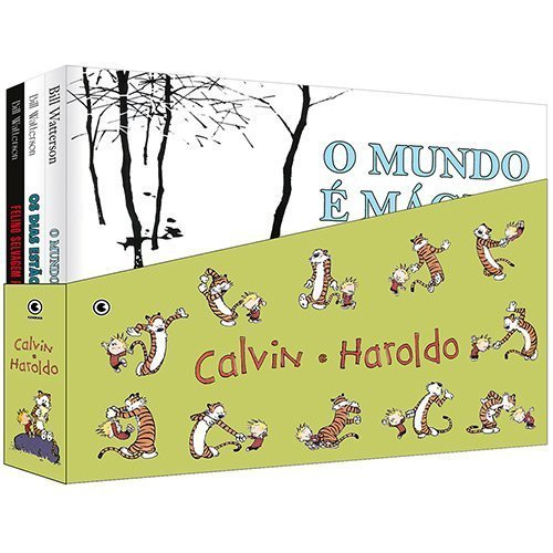 Box - Calvin e Haroldo - 3 Vols., livro de Vários Autores