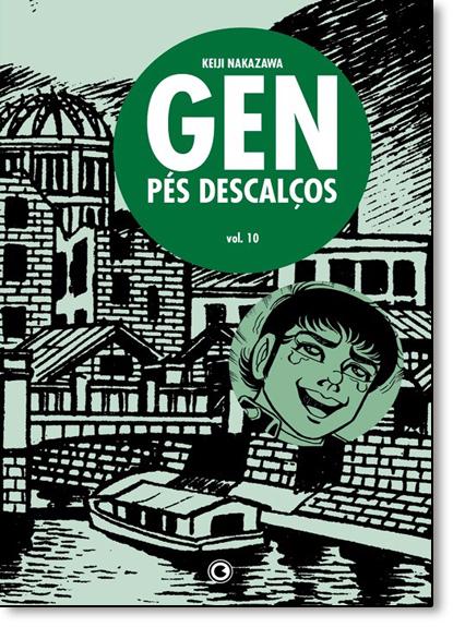 Gen Pés Descalços - Vol.10, livro de Keiji Nakazawa