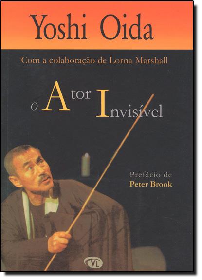 Ator Invisível, O, livro de Yoshi Oida