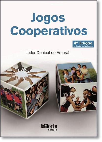Jogos Cooperativos, livro de Jader Denicol do Amaral