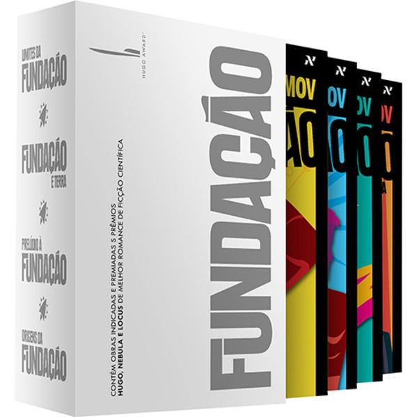 Box Fundação - Declínio e ascensão, livro de Asimov, Isaac