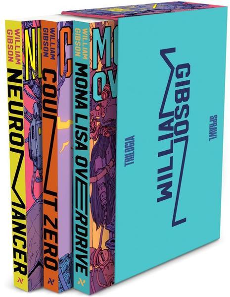 Box Trilogia Sprawl, livro de Gibson, William