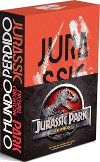 Box Jurassic Park 25 anos, livro de Crichton, Michael