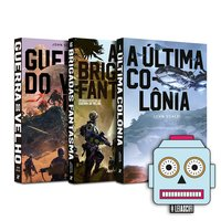 Kit Guerra Do Velho + Brinde Adesivo Sci-fi, livro de Scalzi, John