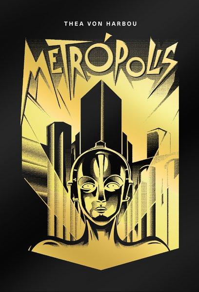Metrópolis, livro de Von Harbou, Thea