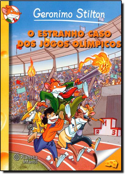 Estranho Caso dos Jogos Olímpicos, O, livro de Geronimo Stilton