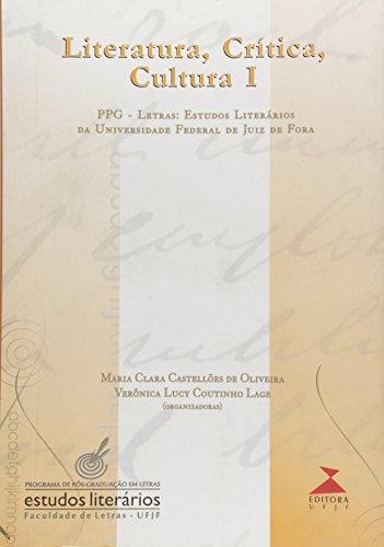 Literatura, Critica E Cultura - V. 01, livro de