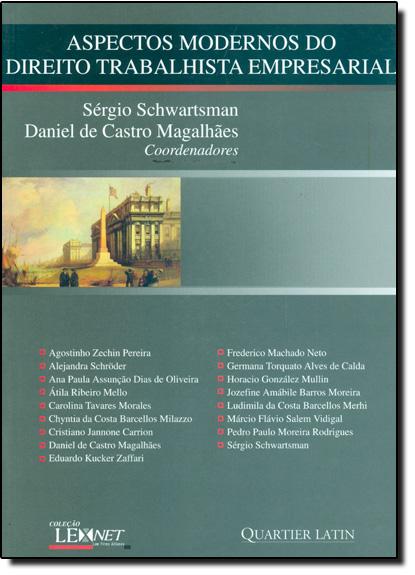 Aspectos Modernos do Direito Trabalhista Empresarial, livro de Sergio Schwartsman