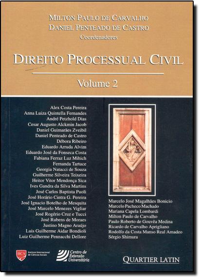 Direito Processual Civil - Vol.2, livro de Daniel Penteado de Castro