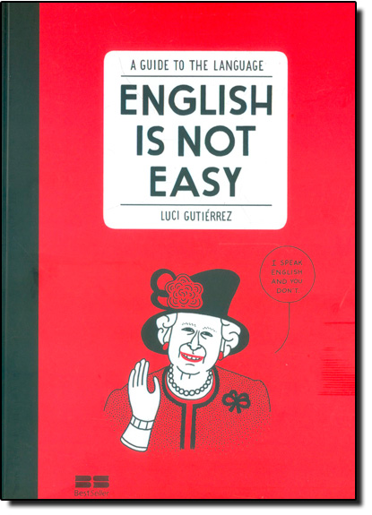 English Is Not Easy: A Guide To The English Language, livro de Luci Gutierrez