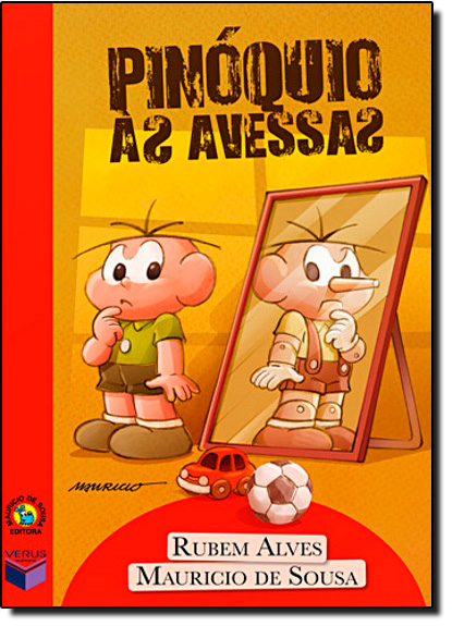 Pinóquio as Avessas, livro de Rubem Alves