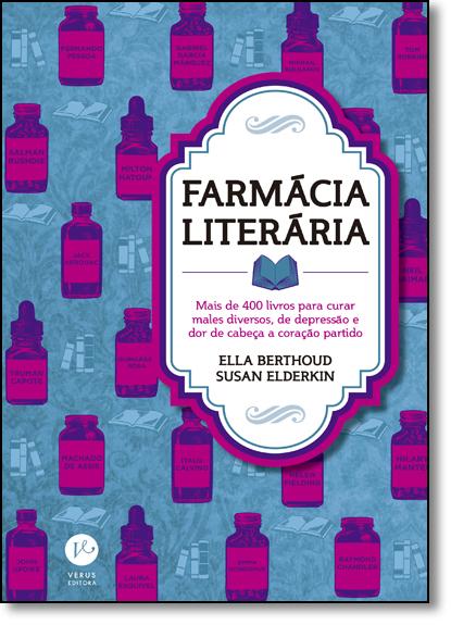 Farmácia Literária, livro de Ella Berthoud