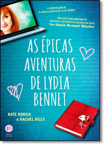 Épicas Aventuras de Lydia Bennet, As, livro de Kate Rorick