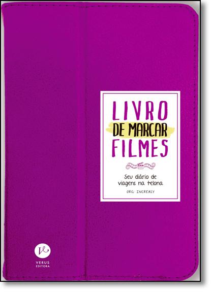 Livro de Marcar Filmes, livro de Increasy Consultoria Literária