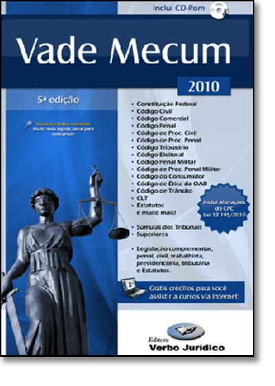 Vade Mecum 2010, livro de Nylson Paim de Abreu Filho