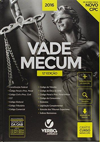 Vade Mecum 2016 - Capa Tradicional, livro de Nylson Paim de Abreu Filho
