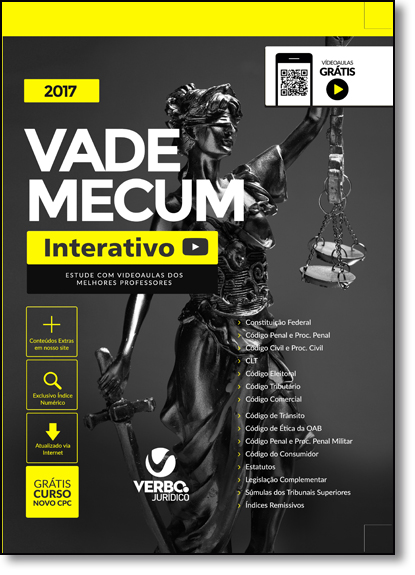 Vade Mecum 2017 - Capa Tradicional, livro de Nylson Paim de Abreu Filho