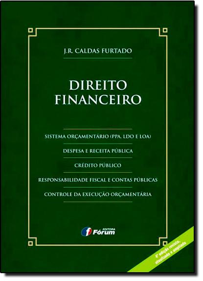 Direito Financeiro, livro de J.R. Caldas Furtado