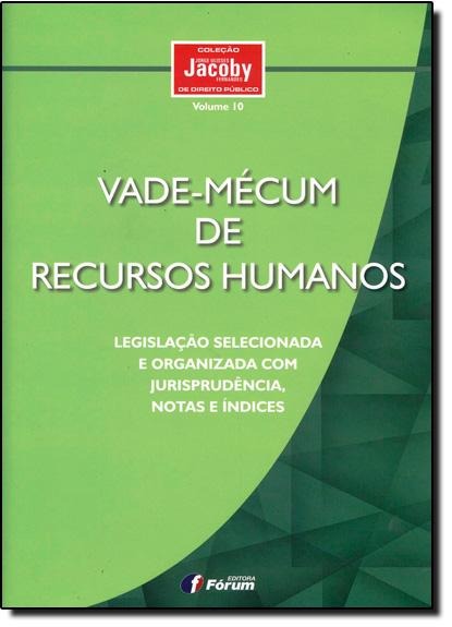 Vade-mécum de Recursos Humanos, livro de Jorge Ulisses Jacoby Fernandes