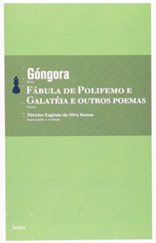 Fábula de Polifemo e Galatéia e outros Poemas, livro de Góngora