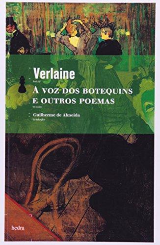 A Voz dos Botequins e Outros Poemas, livro de Paul-Marie Verlaine