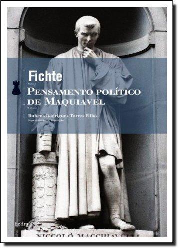 Pensamento Político de Maquiavel, livro de Fichte
