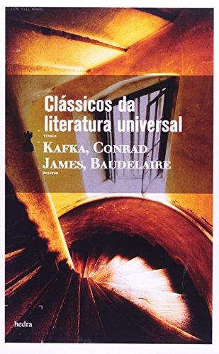 Clássicos da literatura universal (caixa), livro de Charles Baudelaire, Franz Kafka, Henry James e Joseph Conrad